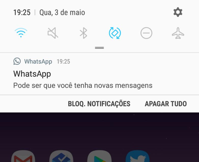 whatsapp novas mensagens