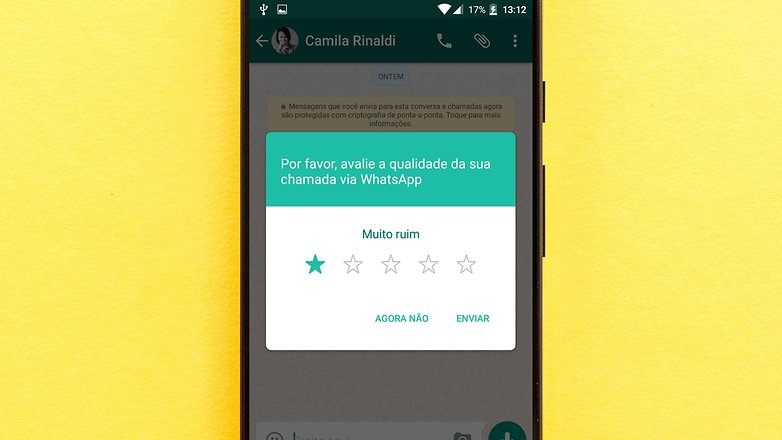 whatsapp videocall secound