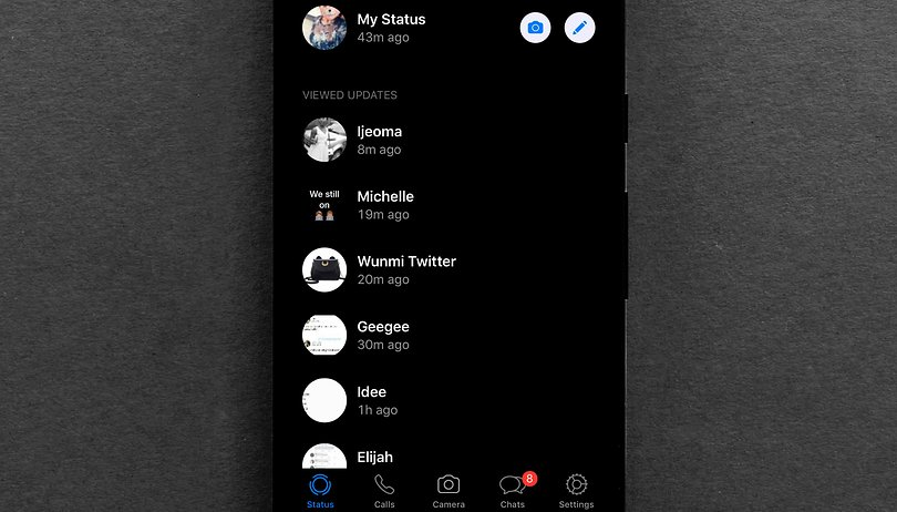 WhatsApp para iOS se prepara para receber tema escuro; Android receberá depois