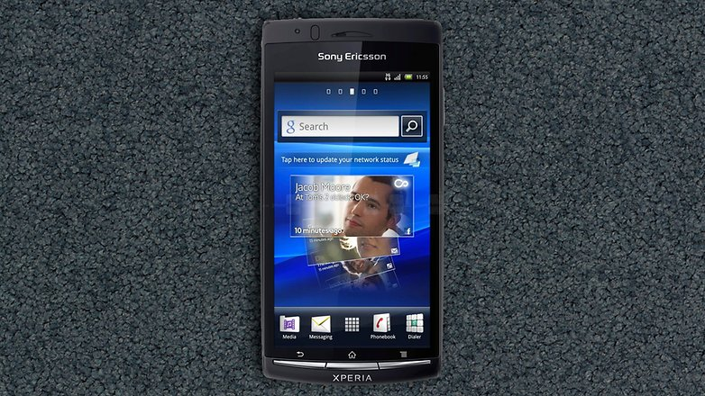 xperia arc s new