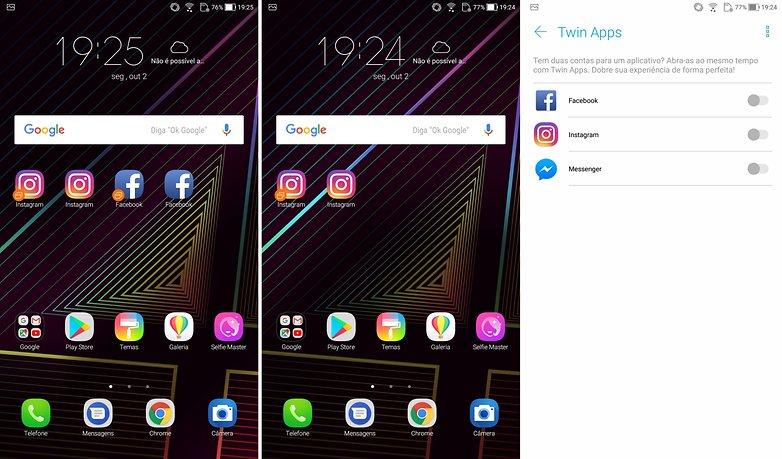 zenfone 4 apps duplicados