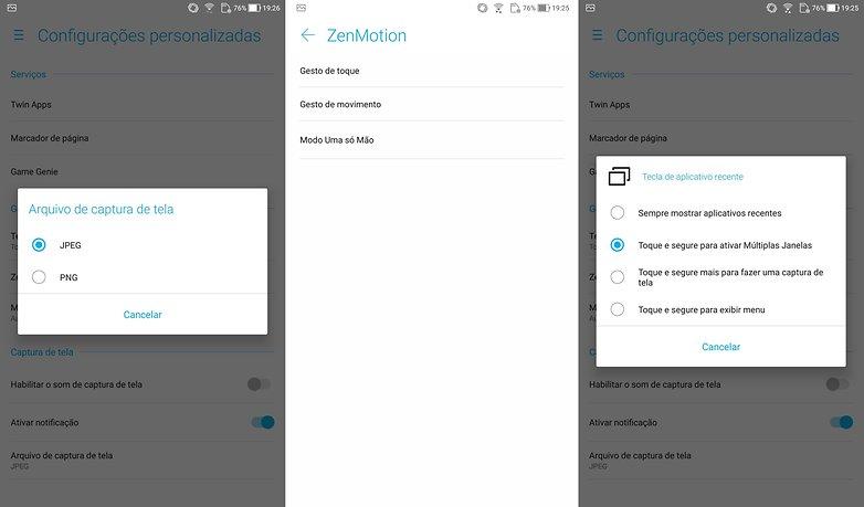 zenfone 4 conf personalizada