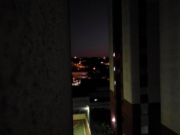 Modo noturno.