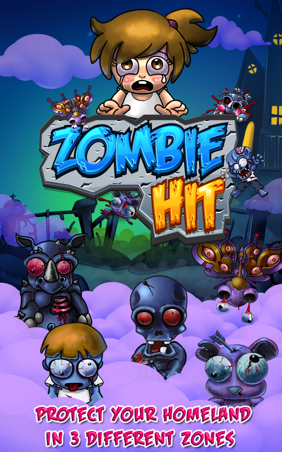 Free Game Zombie Hit Smash The Zombie And Defend Your
