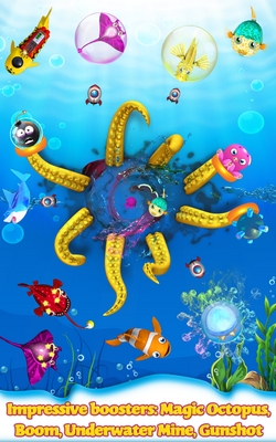 Free Game Fish Crush Catch The Shark And Bad Fishes To