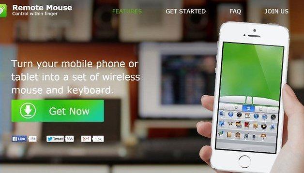 Trasformate il vostro smartphone in un mouse o in una tastiera wireless