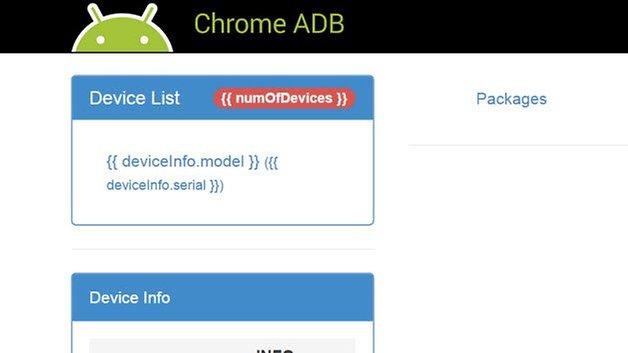 chrome adb server