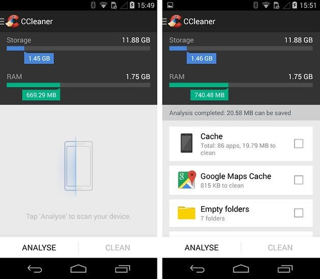 How to free up storage space on the moto x 2013 androidpit clean moto x 1 ccuart Choice Image