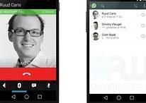 Revealed! A sneak peek at making phone calls in WhatsApp