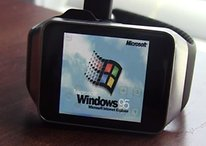 Windows 95 on Android Wear? It can be done!