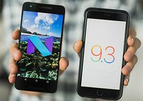 Android Nougat vs iOS 9.3: más similitudes de las que crees