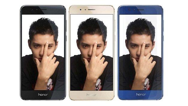 Honor 8 offizielle Bilder