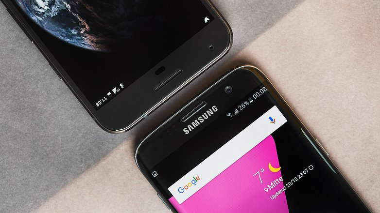 AndroidPIT Galaxy S7 Edge vs Pixel XL 0294