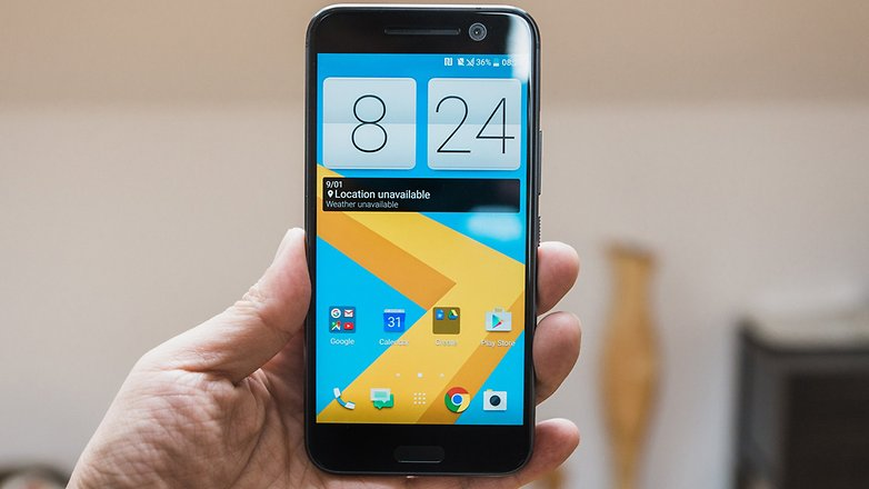 AndroidPIT HTC 10 Hands on 5033