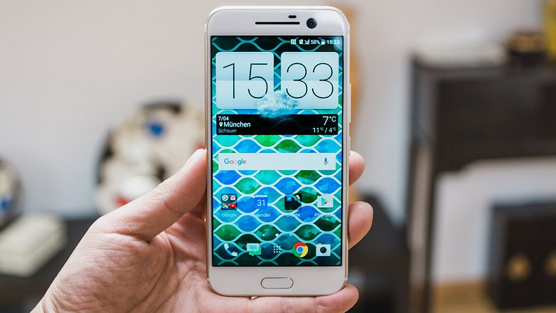 AndroidPIT HTC 10 Hands on 5043