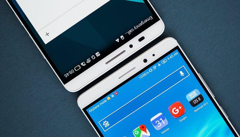 Samsung Galaxy S7 Edge vs Huawei Mate 8: Diseño y potencia