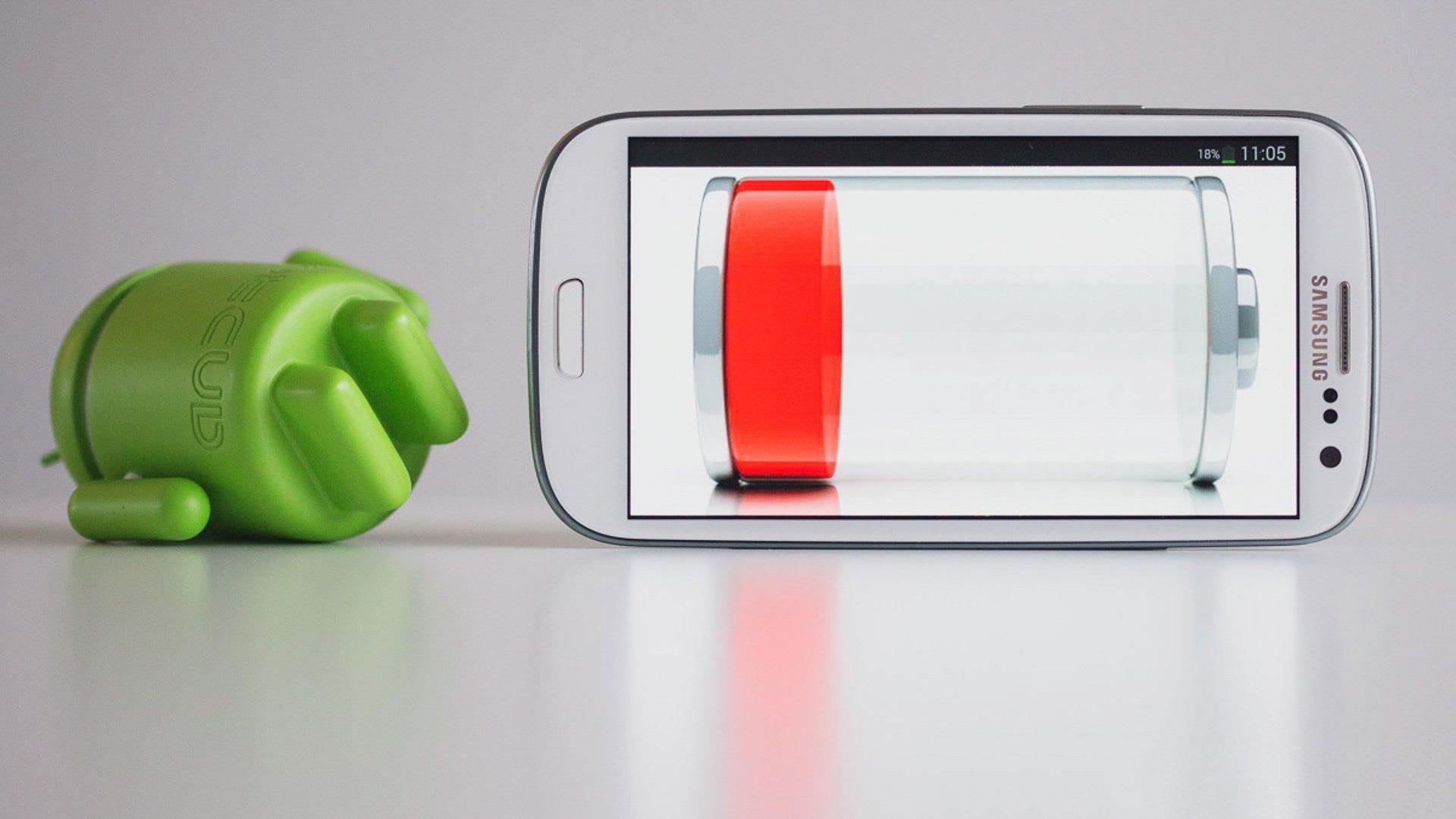 Быстро разряжается телефон Android o 9