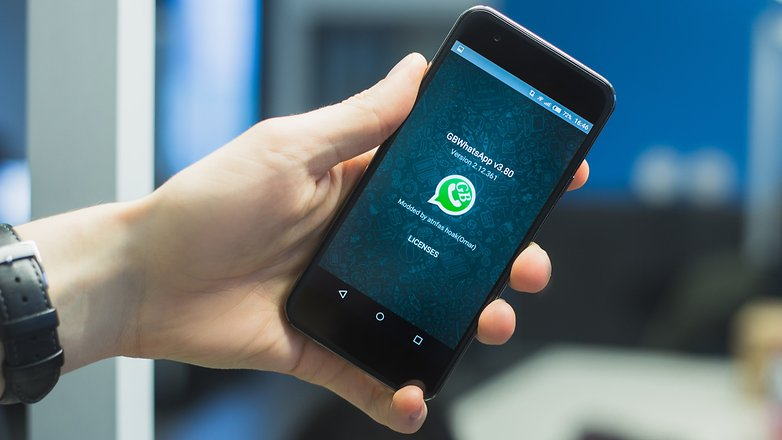 ANDROIDPIT gbwhatsapp