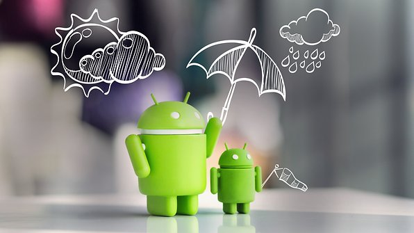 ANDROIDPIT weather apps