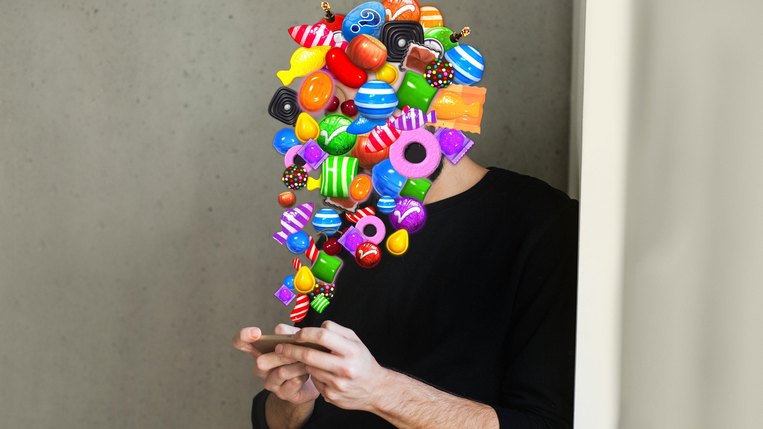Mindestens 9 Millionen Menschen spielen stundenlang Candy Crush