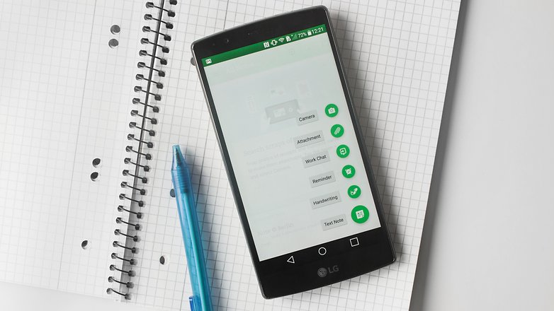 AndroidPIT Evernote 2