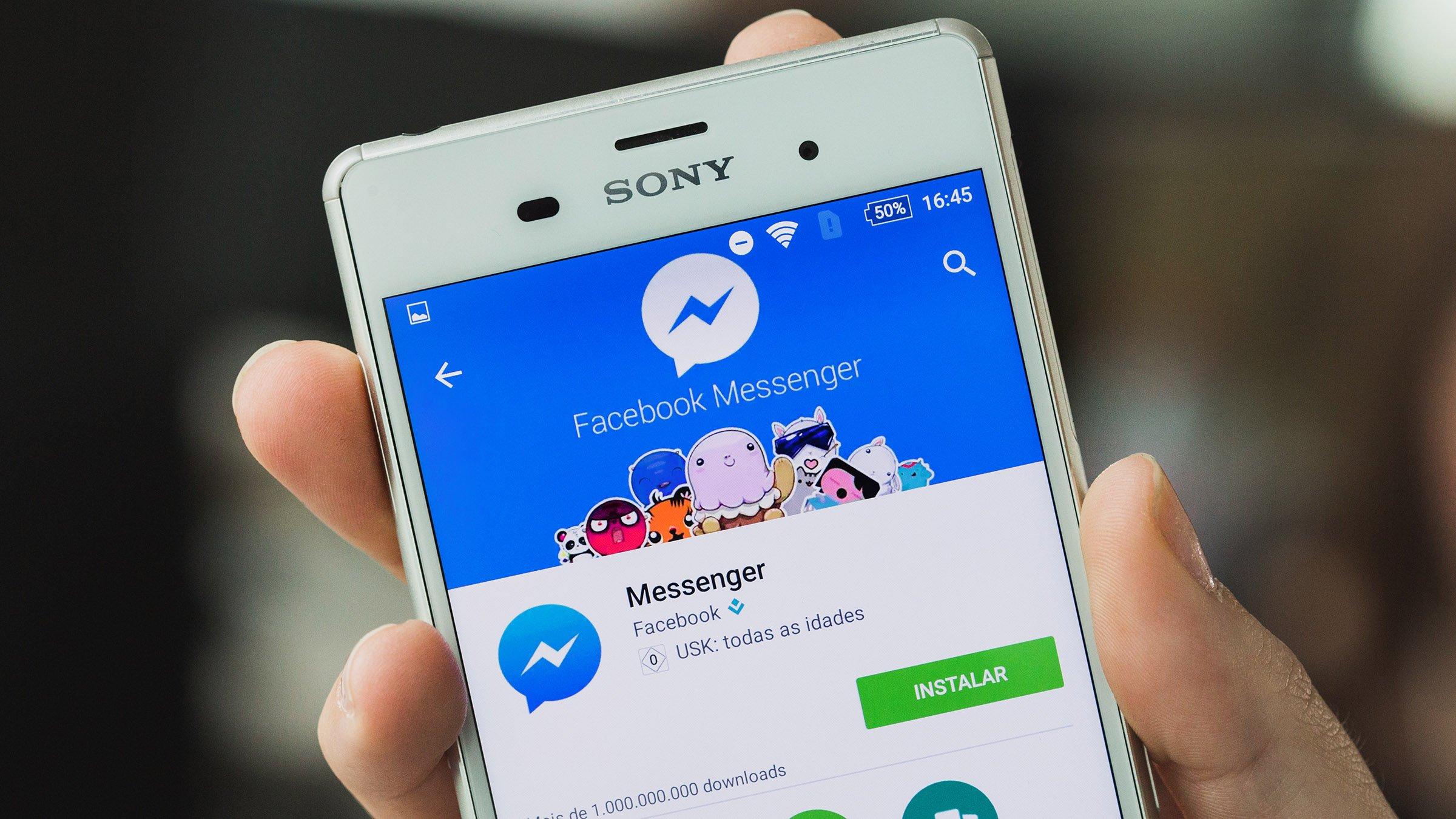 facebook messenger dark mode kommt auf die dunkle seite androidpit. Black Bedroom Furniture Sets. Home Design Ideas
