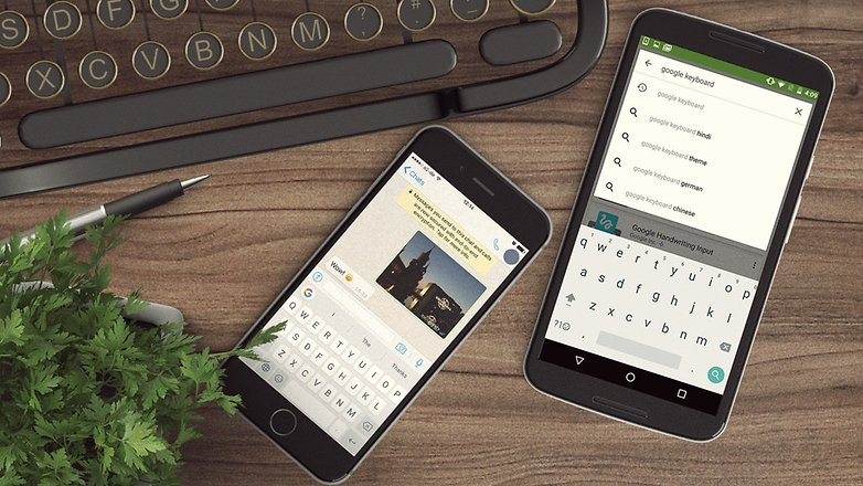 AndroidPIT Google keyboard