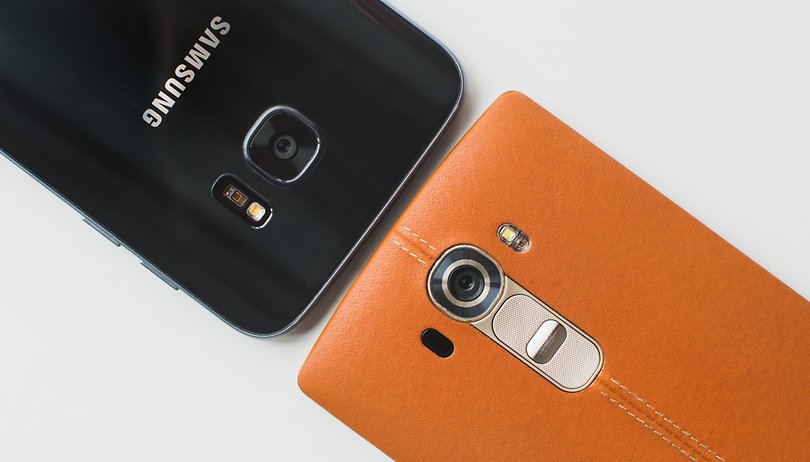 Comparación de cámaras: Samsung Galaxy S7 vs LG G4