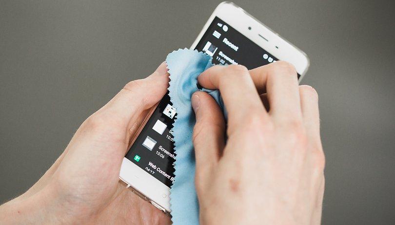 Fettfreies Handy-Display: So erneuert Ihr die ölabweisende Beschichtung
