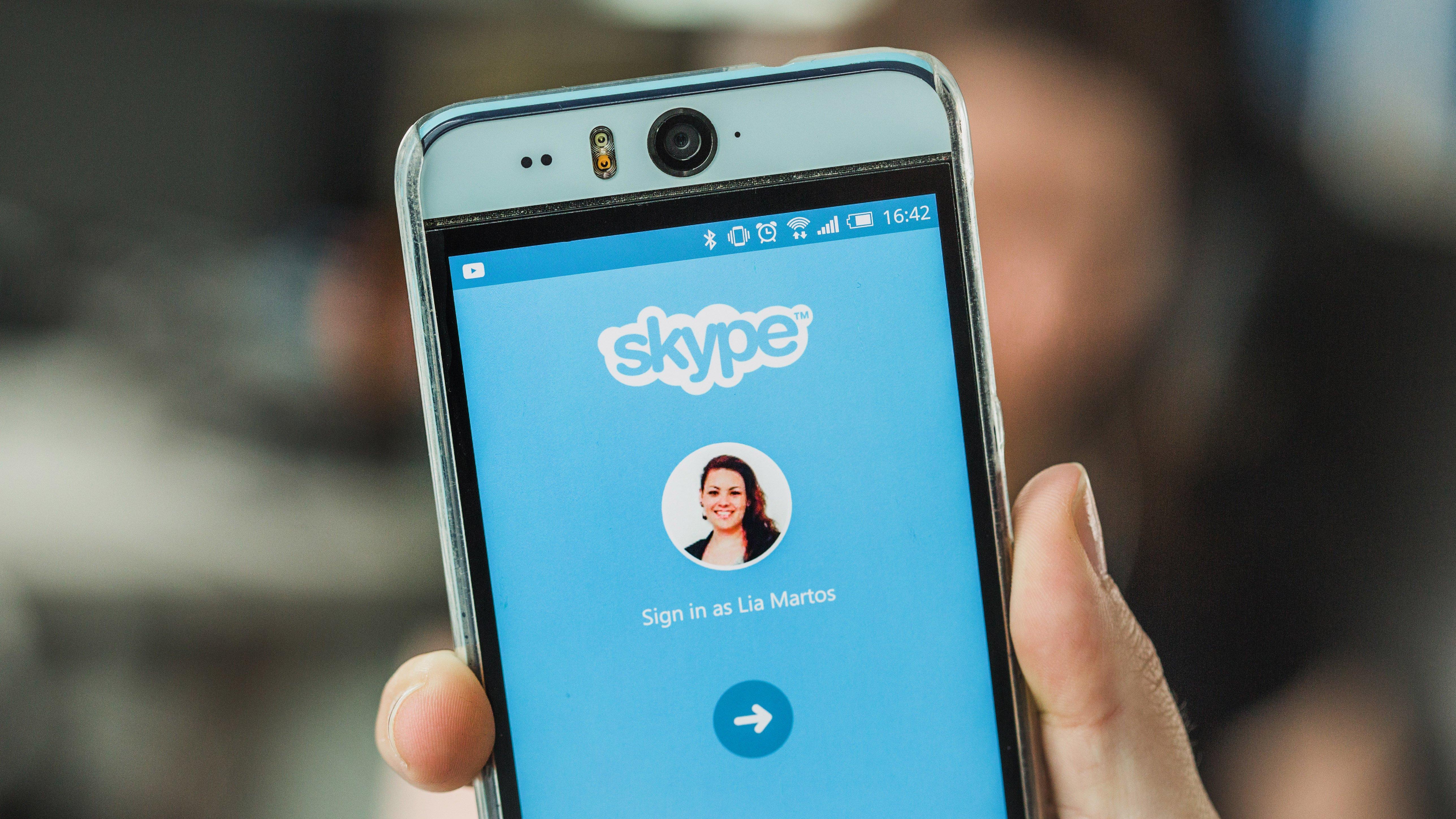 The description of Skype