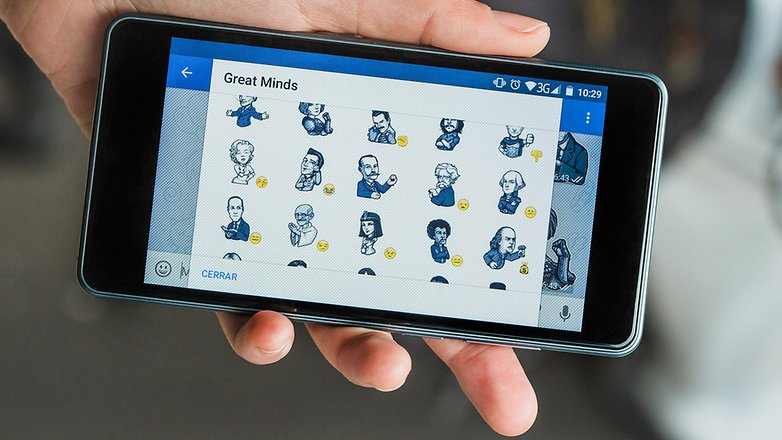 AndroidPIT Telegram emojis famous people stickers 0516
