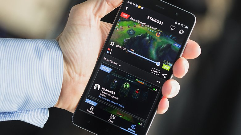 AndroidPIT best game streaming apps 1603