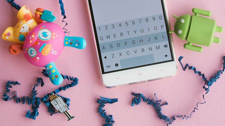 AndroidPIT keyboard fleksy hero 4