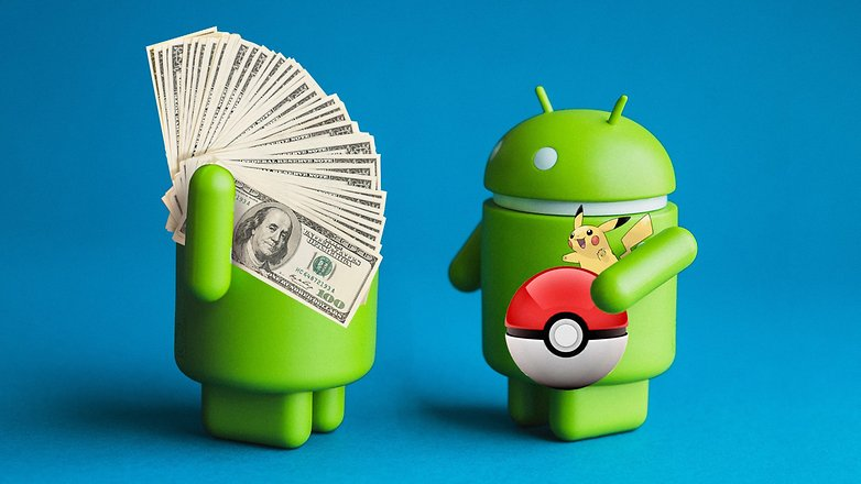 AndroidPIT messenger Pokemon Go money