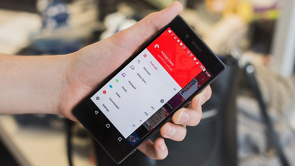 AndroidPIT pocket casts 3