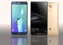 Comparación Huawei Mate 8 Vs Samsung Galaxy S6 Edge+: dos gigantes frente a frente