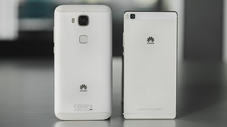 AndroidPIT Huawei G8 vs P8 1 2