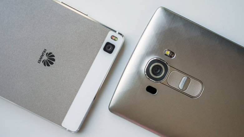AndroidPIT Huawei P8 vs G4 2