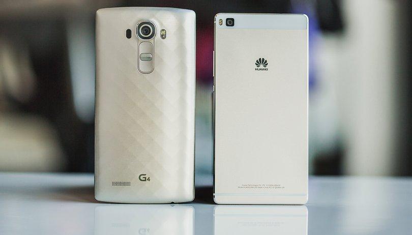 Huawei P8 vs LG G4: Dos de los grandes de 2015