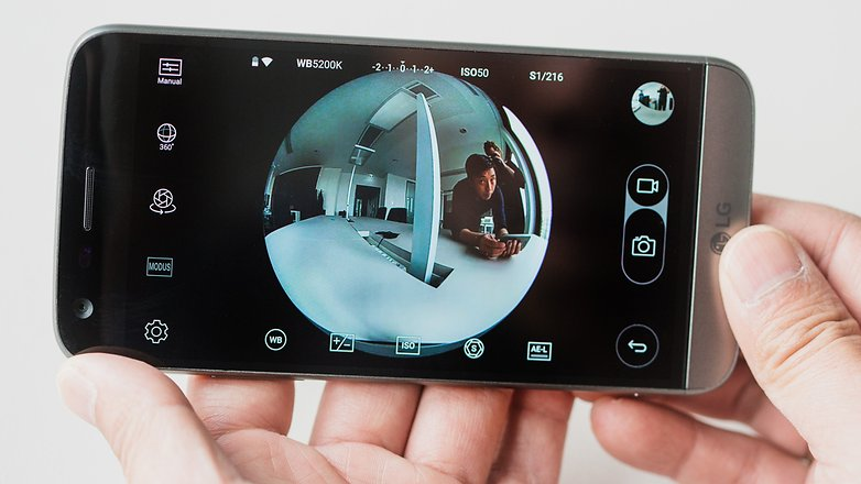 AndroidPIT LG G5 Friend 360 Cam 5519