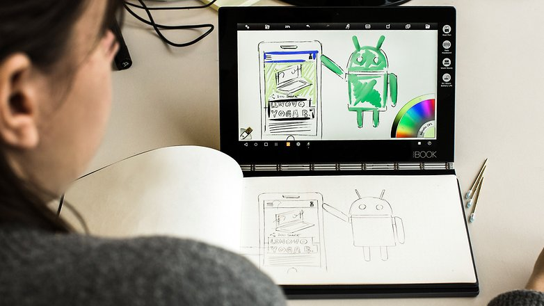 AndroidPIT Lenovo Yoga Book 0153