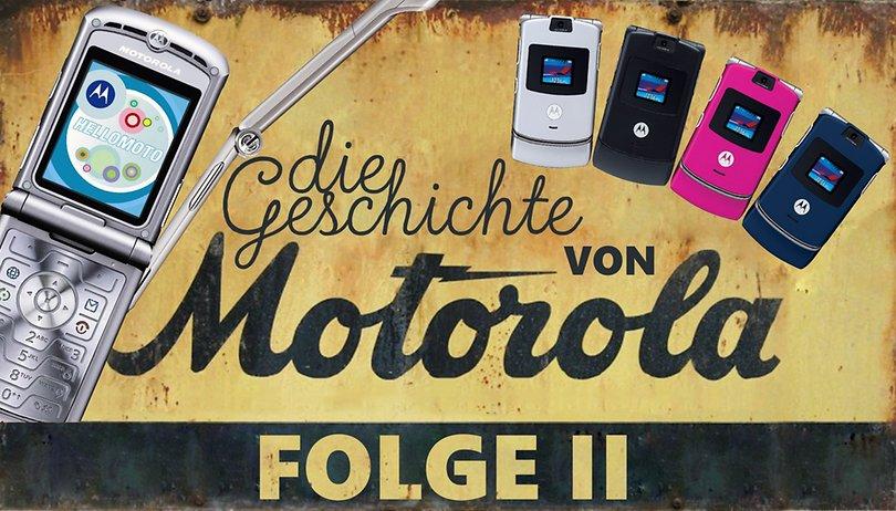 Hello Moto: Die Handy-Highlights von Motorola in den 90er & 2000ern