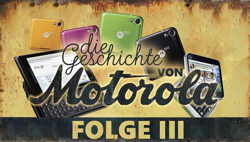 Milestone, RAZR & Co.: Motorolas frühe Gehversuche mit Android