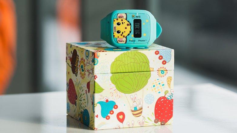 AndroidPIT Neki kids smartwatch 1