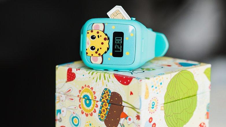 AndroidPIT Neki kids smartwatch 2