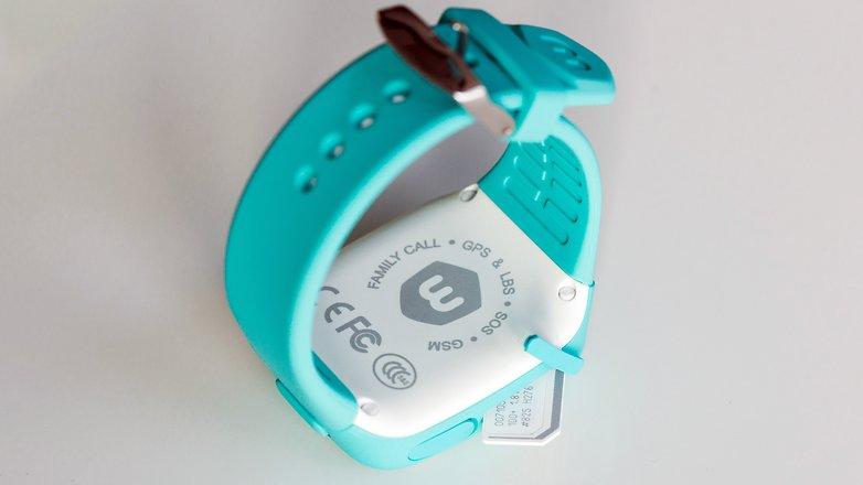 AndroidPIT Neki kids smartwatch 3