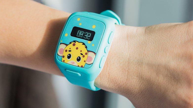 AndroidPIT Neki kids smartwatch 7