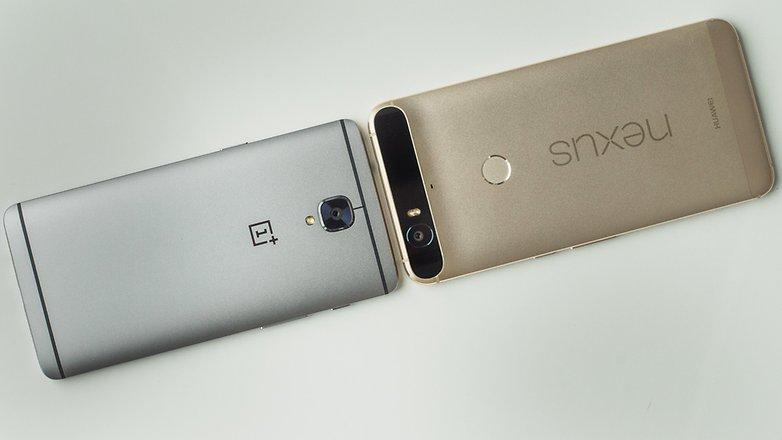 AndroidPIT oneplus 3 vs Nexus 6P 7907