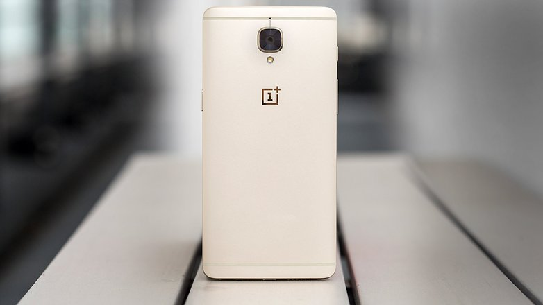 AndroidPIT OnePlus3 soft gold 6523