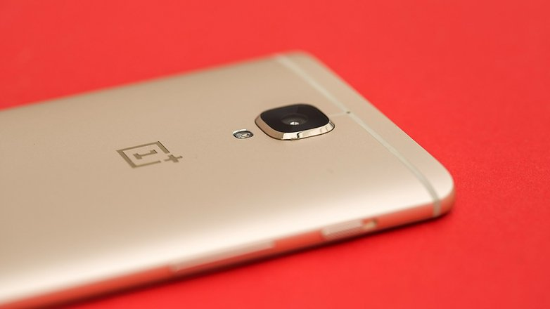 AndroidPIT OnePlus3 soft gold 6543